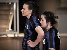 Första turkiska medborgareKorfball mästerskap Royaltyfri Bild