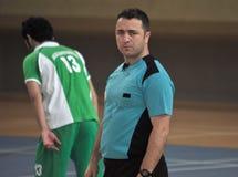 Första universitetKorfball semifinaler - Turkiet Arkivbilder