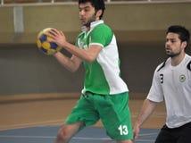 Första universitetKorfball semifinaler - Turkiet Royaltyfria Foton