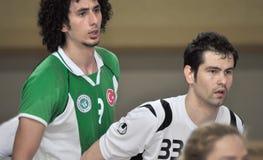 Första universitetKorfball semifinaler - Turkiet Fotografering för Bildbyråer