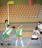 Första universitetKorfball semifinaler - Turkiet Royaltyfri Bild