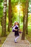 Första väghyvel, dag av kunskap - 1 september Royaltyfri Foto