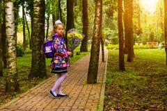 Första väghyvel, dag av kunskap - 1 september Royaltyfria Foton