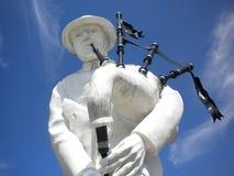 Första världskrig Piper Memorial, Longeuval, Somme slagfält Royaltyfri Fotografi