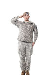 Förster der AMERIKANISCHEN Armee Stockbild