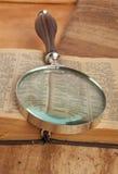 Förstoringsglas Royaltyfri Fotografi