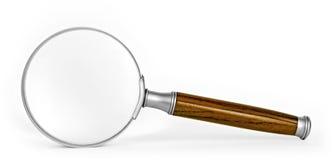 Förstoringsglas Arkivbild