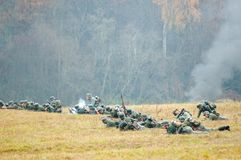 Försvar för tysk armé Royaltyfri Fotografi
