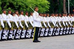 försvar pressar malaysia Royaltyfria Foton