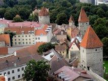 Försvar står högt Tallinn royaltyfri fotografi