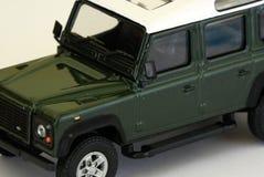 försvarare Land Rover Royaltyfri Bild