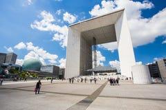 försvarla paris france Royaltyfri Foto