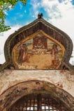 Försvinnande målning Arkivbilder