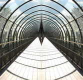 Försvinnatunnel Royaltyfria Foton