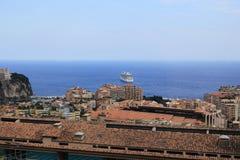 Förtöja av Monaco Arkivfoton
