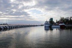 Förtöja port Royaltyfri Fotografi