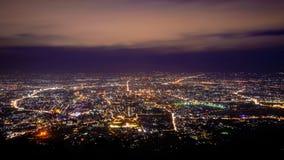 förtöjd sikt för nattportship Fotografering för Bildbyråer