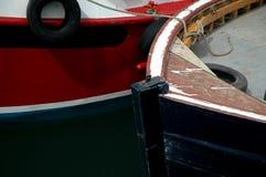 förtöjde fartyg Fotografering för Bildbyråer