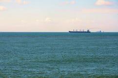 Förtöjt på havet Royaltyfri Foto