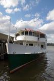 Förtöjt utfärdfartyg Royaltyfri Foto