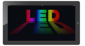 Fört (Light-emitting diod) Fotografering för Bildbyråer
