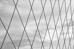 Förtjäna mot skyen Fotografering för Bildbyråer