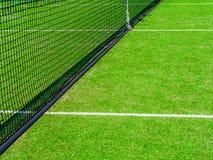 Förtjänar skär av tennisbanan Royaltyfri Fotografi
