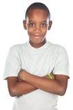 förtjusande afrikansk pojke Fotografering för Bildbyråer