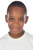 förtjusande afrikansk pojke arkivbild