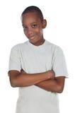 förtjusande afrikansk pojke royaltyfri fotografi