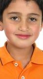 förtjusande amerikansk pojke Royaltyfria Foton