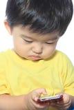 Förtjusande asiatisk unge Fotografering för Bildbyråer