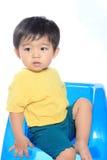 Förtjusande asiatisk unge Royaltyfria Bilder