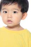 Förtjusande asiatisk unge Arkivfoton