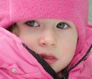 förtjusande barnframsida Royaltyfri Bild