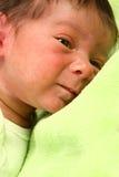 förtjusande behandla som ett barn nyfött Royaltyfria Bilder