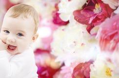 Förtjusande behandla som ett barn pojken Royaltyfria Bilder