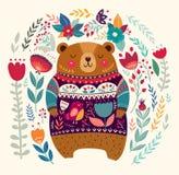 Förtjusande björn Arkivfoton