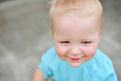 Förtjusande en årig pojke Royaltyfri Foto