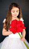 förtjusande flicka little Royaltyfri Bild