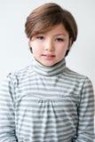 förtjusande flickastående Arkivfoto