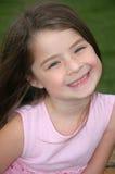 förtjusande leende Arkivfoton