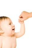 förtjusande litet barn Royaltyfria Bilder