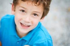 förtjusande pojke Royaltyfri Foto