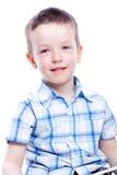 förtjusande pojkefotobarn fotografering för bildbyråer