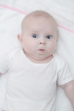 Förtjusande små behandla som ett barn att posera för flicka Royaltyfria Foton
