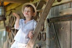 förtjusande unge royaltyfri fotografi