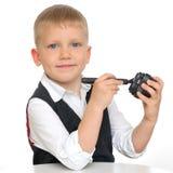 förtjusande unge fotografering för bildbyråer