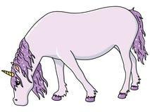 Förtjusande Unicorn Royaltyfria Foton