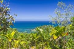 Förtjust Ferdinand naturlig reserv, Seychellerna arkivfoton